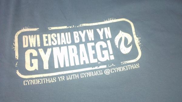 Crys-T Dwi eisiau byw yn Gymraeg (Oedolyn)